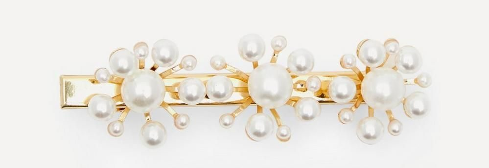 Valet Selby Faux Pearl Hair Clip