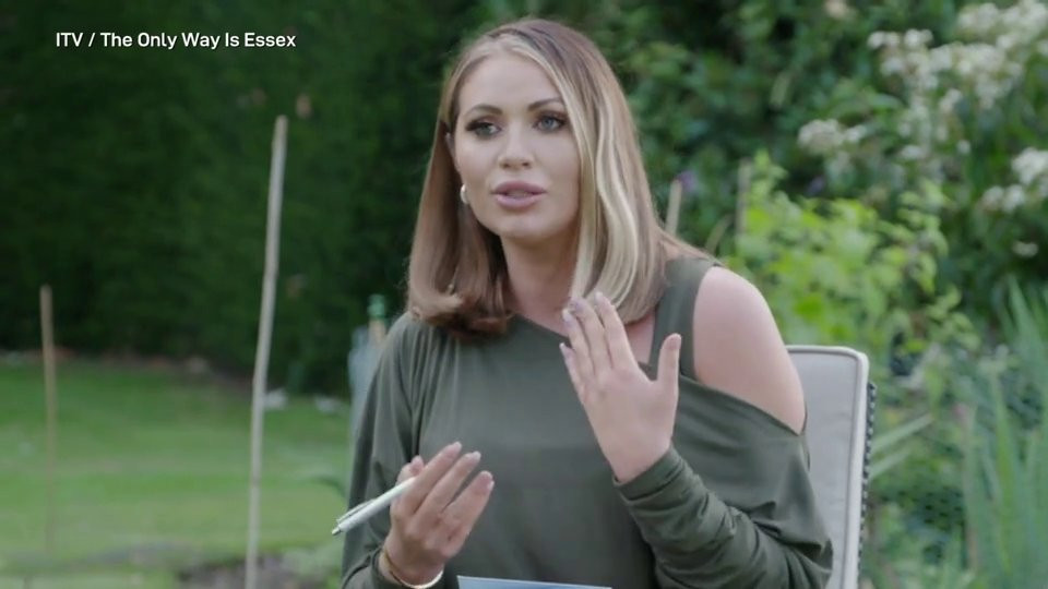 Towie's Amy Childs wants to sound like Vanessa Feltz as she takes elocution lessons