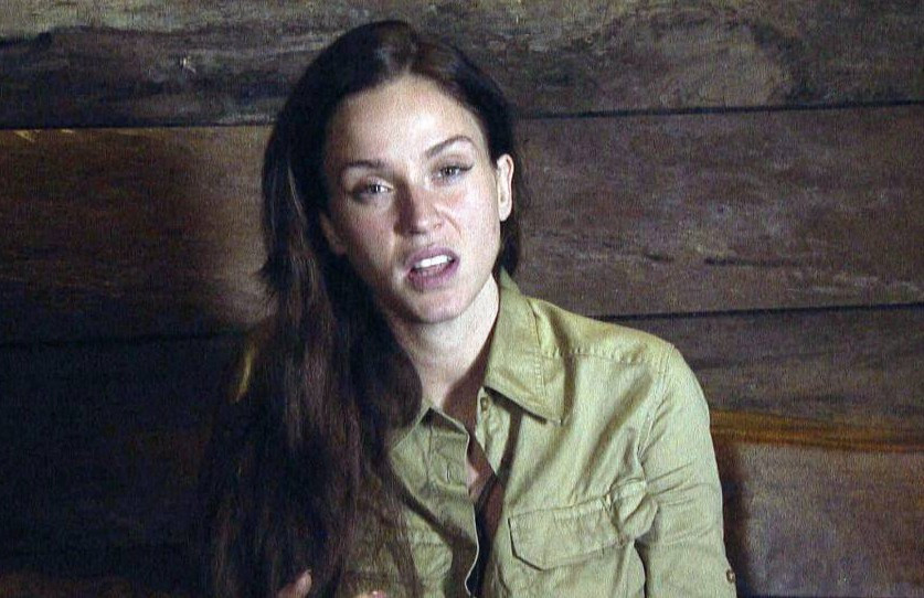 EMBARGO, NOT TO BE USED BEFORE 21:00 04 Dec 2015 - EDITORIAL USE ONLY - NO MERCHANDISING Mandatory Credit: Photo by ITV/REX Shutterstock (5470762ec) Vicky Pattison in the Bush Telegraph 'I'm A Celebrity...Get Me Out Of Here!' TV Show, Australia - 04 Dec 2015