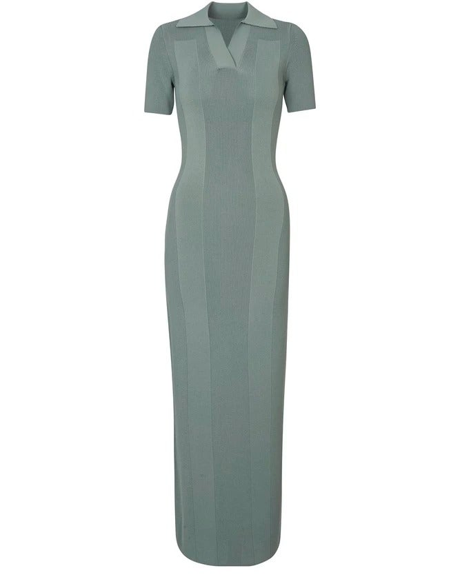 Jacquemus Knitted Polo Dress