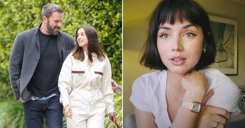 My Celebrity Life – Ana de Armas has unveiled her chic new haircut amid reports she has split up with Ben Affleck Picture Getty