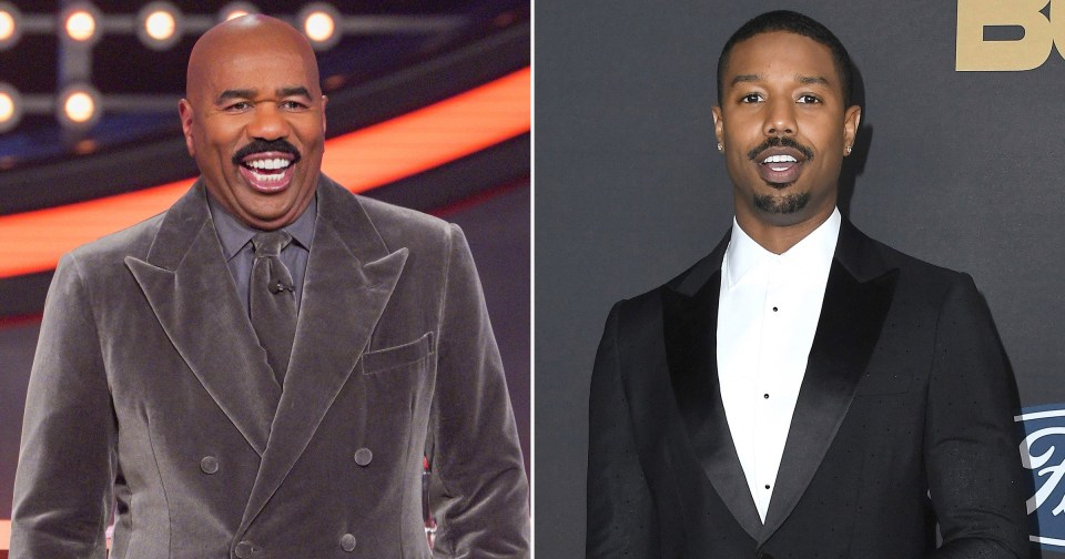 My Celebrity Life – Steve Harvey joked about his daughter Loris romance with Michael B Jordan Pictures Getty