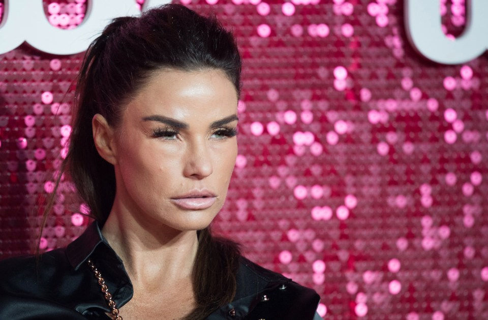 My Celebrity Life – Katie Price in stitches as son Harvey mocks her lovedup PDAs Picture WireImage