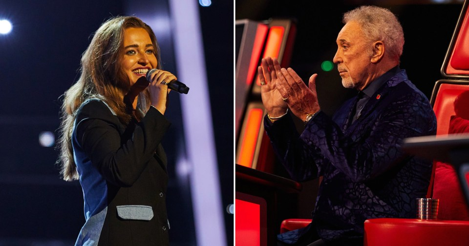 My Celebrity Life – The Voice coaches failed to turn for Laura Picture REX