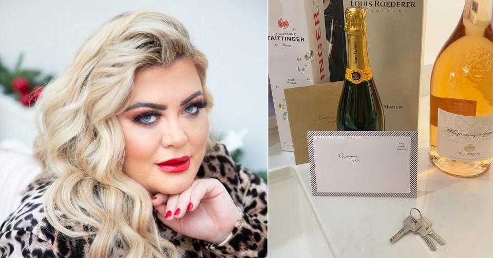 My Celebrity Life – Gemma Collins has finally got the keys to her dream home PictureITVGemmacollinsInstagram