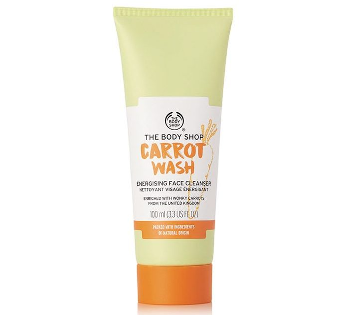The Body Shop Carrot Wash Energizing Face Cleanser