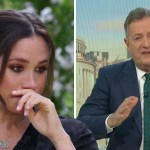 My Celebrity Life – Piers Morgans boss has responded to his Meghan Markle comments Picture ITVCBS