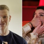 My Celebrity Life – Faye Brookes left in tears as former skating partner Hamish Gaman wishes her luck Picture ITV