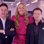 My Celebrity Life – Cat Deeley has been in a bubble with Ant and Dec Picture ITV