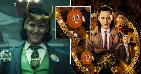 Loki on Disney Plus theories: What's the meaning behind cartoon clock on poster for Marvel series?