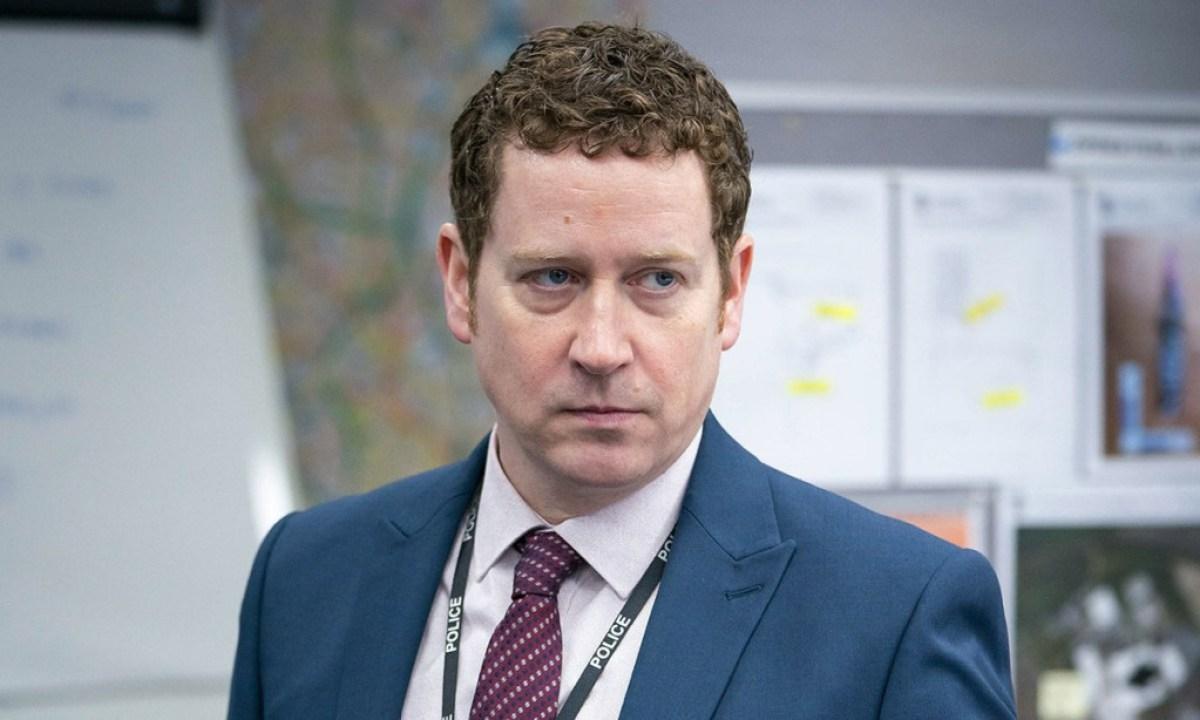 DSI Ian buckles line of duty CREDIT BBC