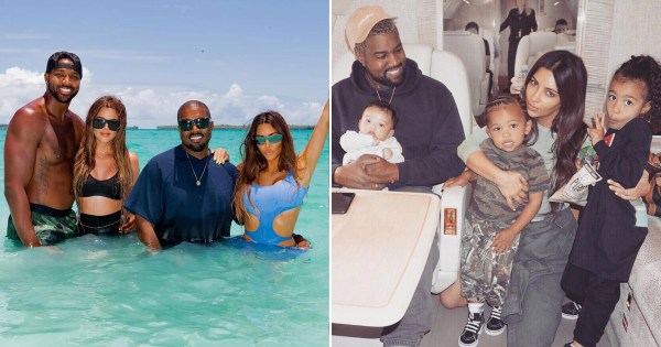 Khloe Kardashian hits back as fan criticises her Kanye West birthday tribute: 'This is my family – not yours'