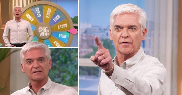 Phillip Schofield bewildered by This Morning caller unhappy with £1K prize