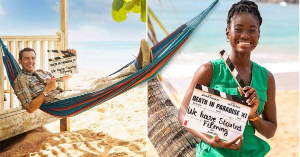 Death in Paradise series 11 begins filming as new star joins cast