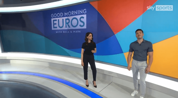 Mark Wright sparks surprise as former Towie star pops up on Sky Sports News Euro 2021 coverage