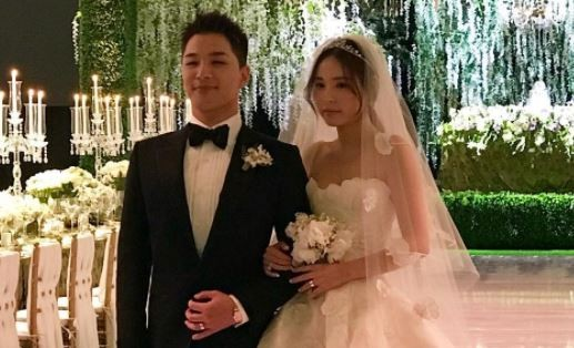 BIGBANG star Taeyang expecting first child with wife Min Hyo Rin