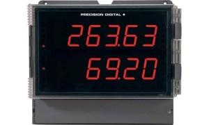 Precision Digital PD2-6363 Dual Pulse Input Flow Rate/Totalizer