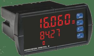 Precision Digital PD6060 ProVu Dual Analog Input Process Digital Panel Meter