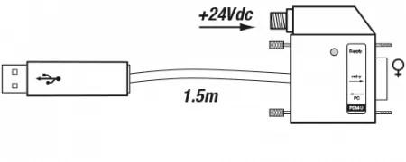 Vogtlin PDM-U USB Cable