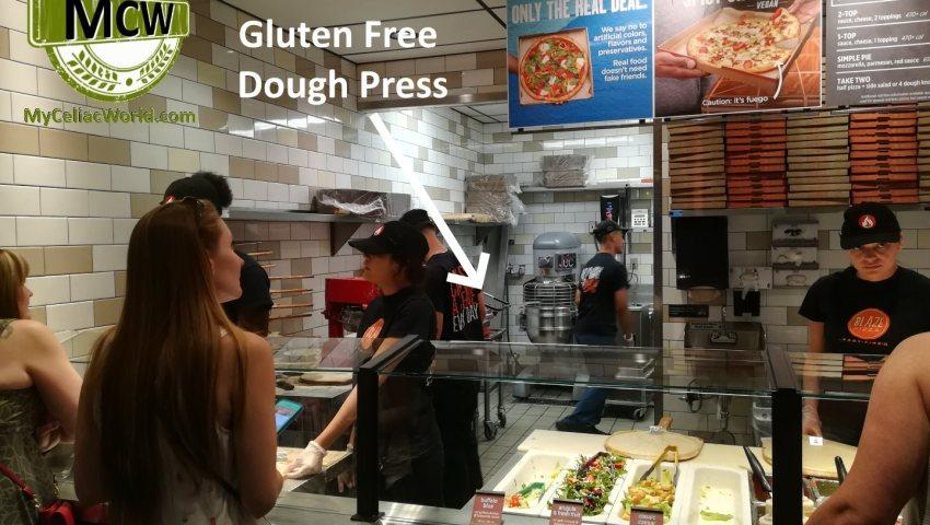 Celiac's Should Not Eat At Blaze Pizza