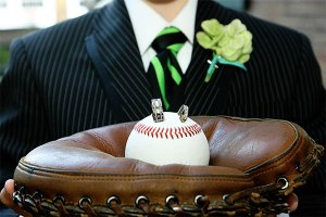 "Porte alliances ""baseball"""