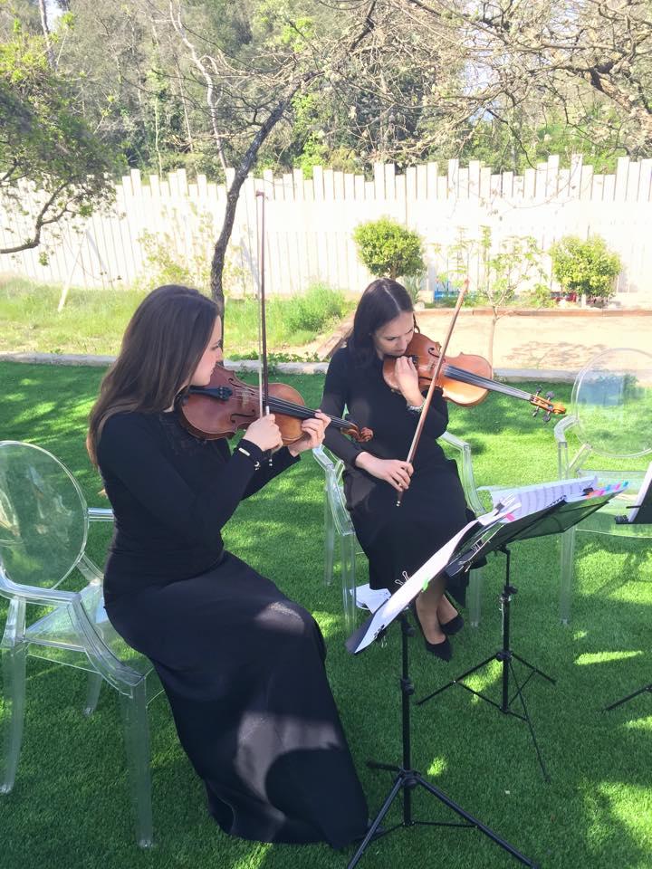 violon cérémonie laique