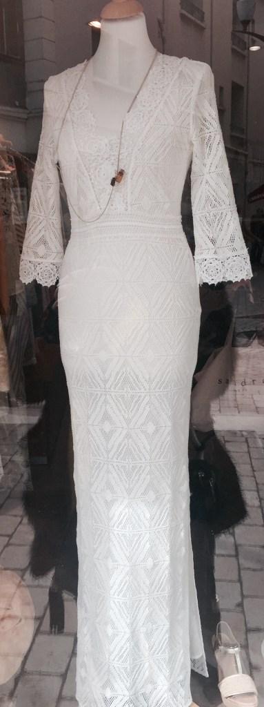 robe cérémonie laïque