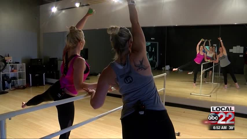 Get Fit with Brit: UDC Barre Class