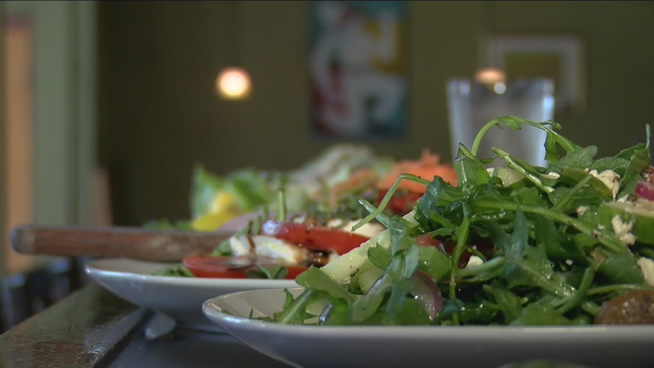 44's Finest Salad: Pulcinella's