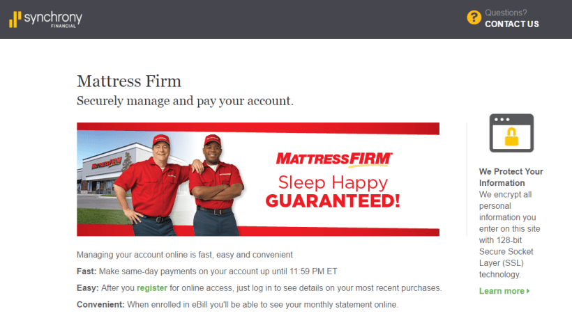 Mattress Firm Credit Card Payment Cardfssn Org
