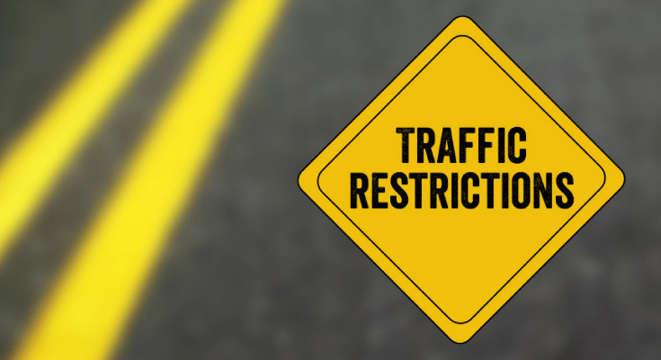Traffic Restrictions Chester County