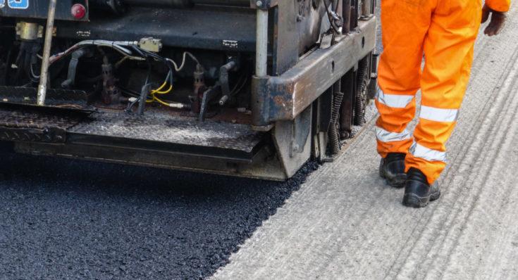 lane restrictions, milling, road repair