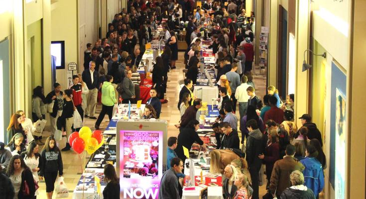36th Annual College Fair Attracts Chester County Students at Exton Square Mall