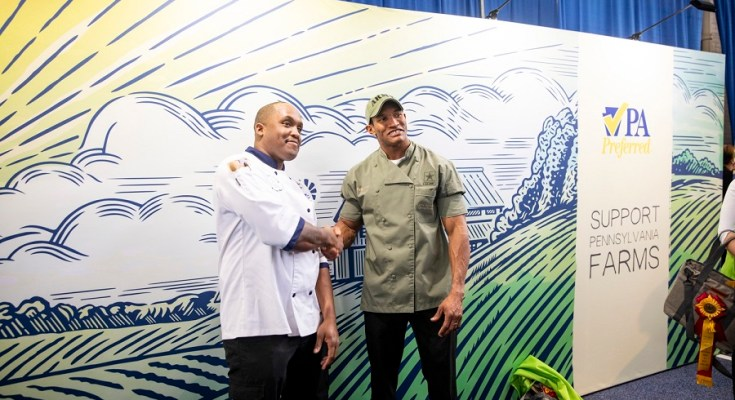 Army and Navy Battle for Culinary Superiority at 104th PA Farm Show Cook-Off