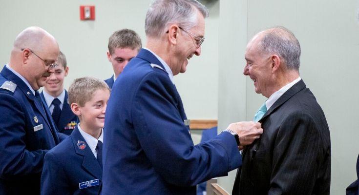 Representative Barrar Honored by Civil Air Patrol