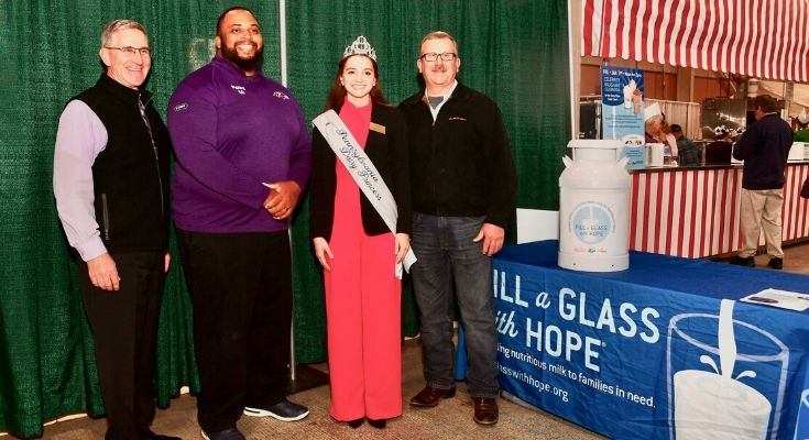 Fill a Glass with Hope Campaign Kicks Off at 2020 PA Farm Show