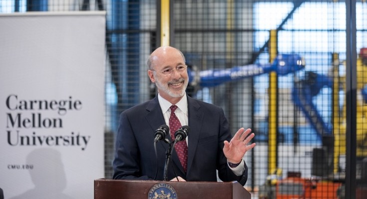 Gov. Wolf Announces PA Innovation Plan Proposal
