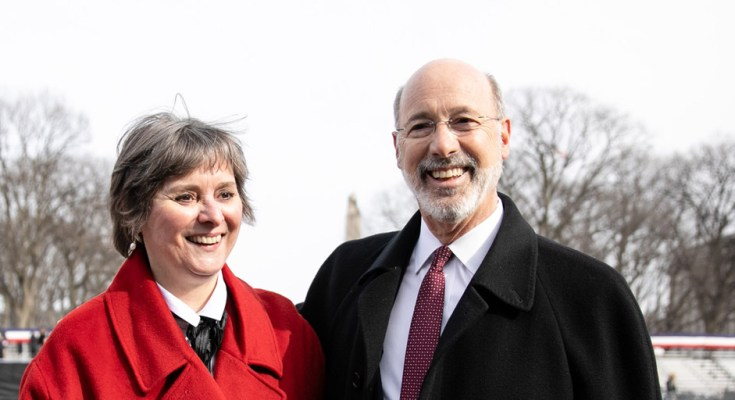 Governor, First Lady Wolf Visit Israel