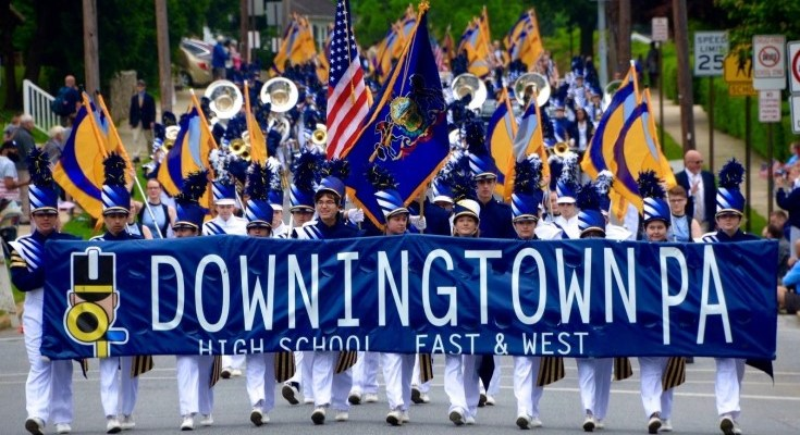 Downingtown Blue and Gold Marching Band Begins Fundraising Campaign To Finance Journey to Pasadena