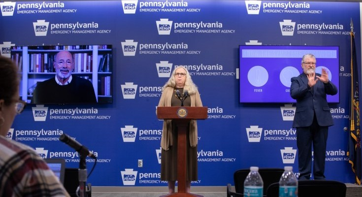 Gov. Wolf, Secretary Levine Provide Updated Guidance, Stress Need for Compliance as Cases Rise