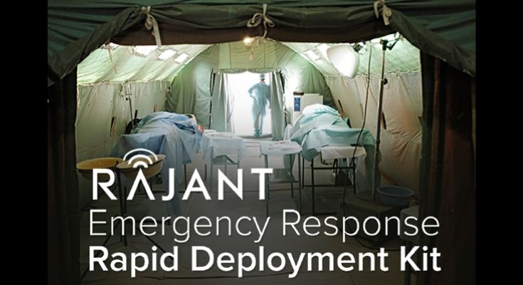 Rajant's Globally Available Emergency Response Rapid Deployment Kit