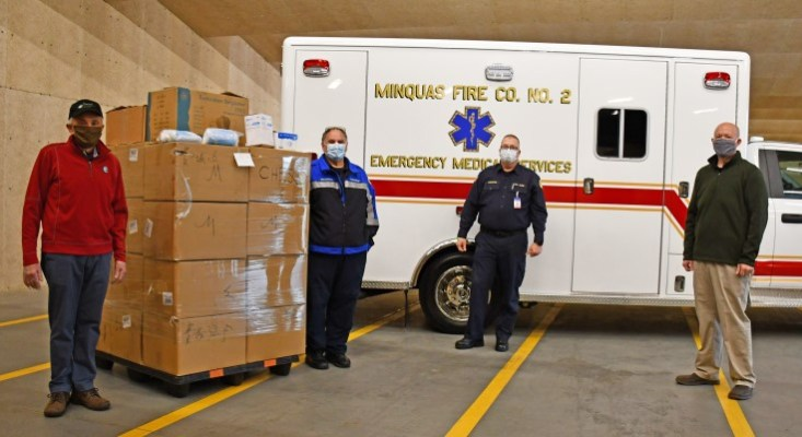 Chester County Secures 3.5 Million Face Masks for Frontline Health Care Workers Through Business Relationships in China
