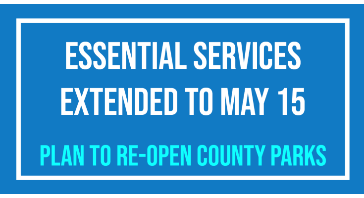 Chester County Commissioners Extend Essential Services-only to May 15, Plan to re-open County-Owned Parks