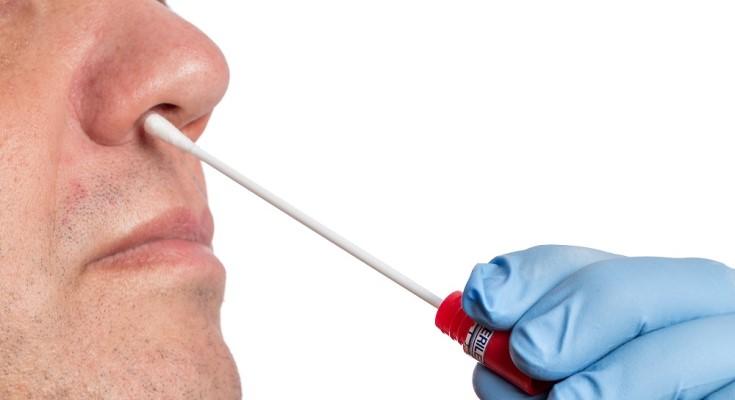 Nasal-Swab Testing