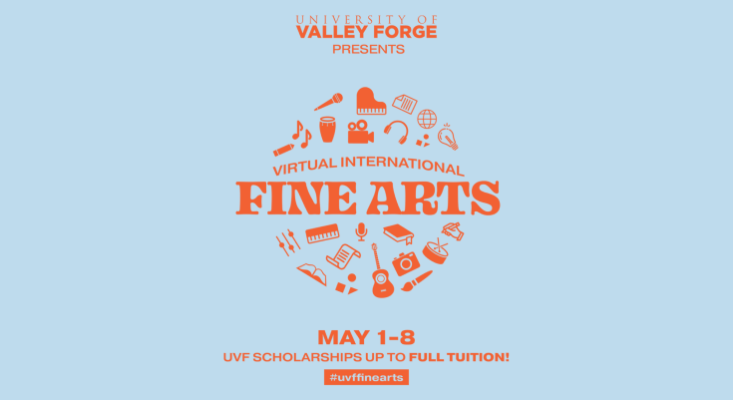 Recap of University of Valley Forge's Virtual International Fine Arts Event