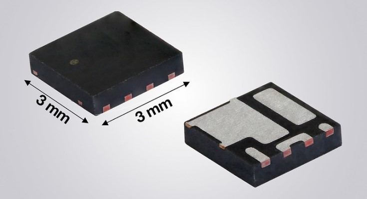 Vishay Intertechnology 30 V MOSFET Half-Bridge Power Stage Delivers 11 % Higher Output Current in PowerPAIR® 3x3F