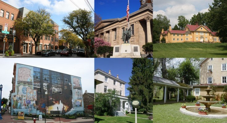 Explore Architecture, Artistry, and Personal Expression in Chester County's 26th Annual Town Tours and Village Walks Program