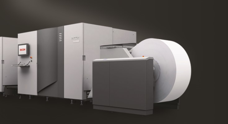 Borns Group Boosts Color Quality and Delivers Jobs up to 80% Faster with RICOH Pro VC40000