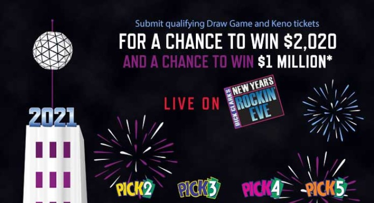 Pennsylvania Lottery Second-Chance Drawing Offers Players Chance to Win $1 Million