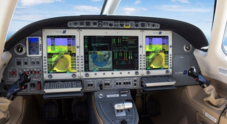 Eclipse Synthetic Vision and Autothrottle Kit Available from IS&S